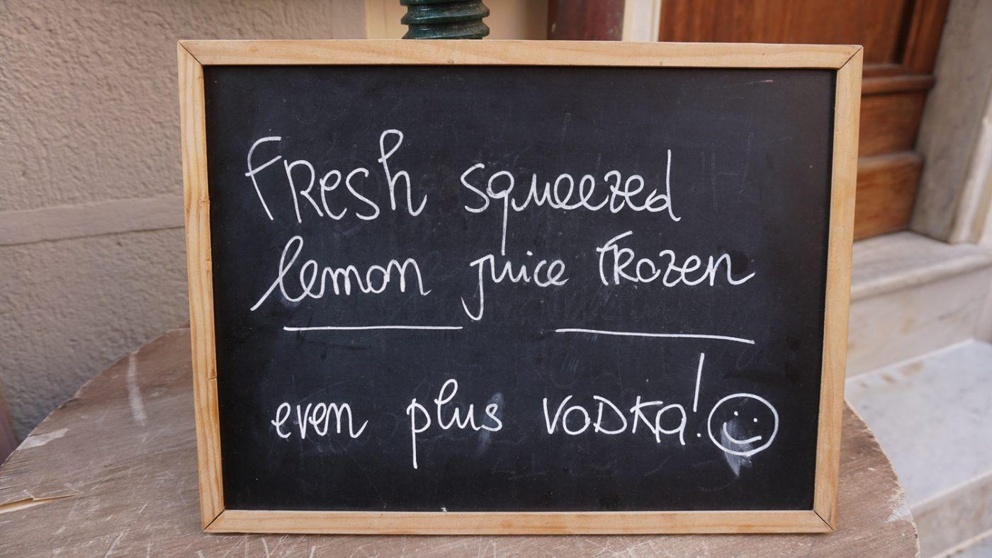 Lemonade Cinque Terre
