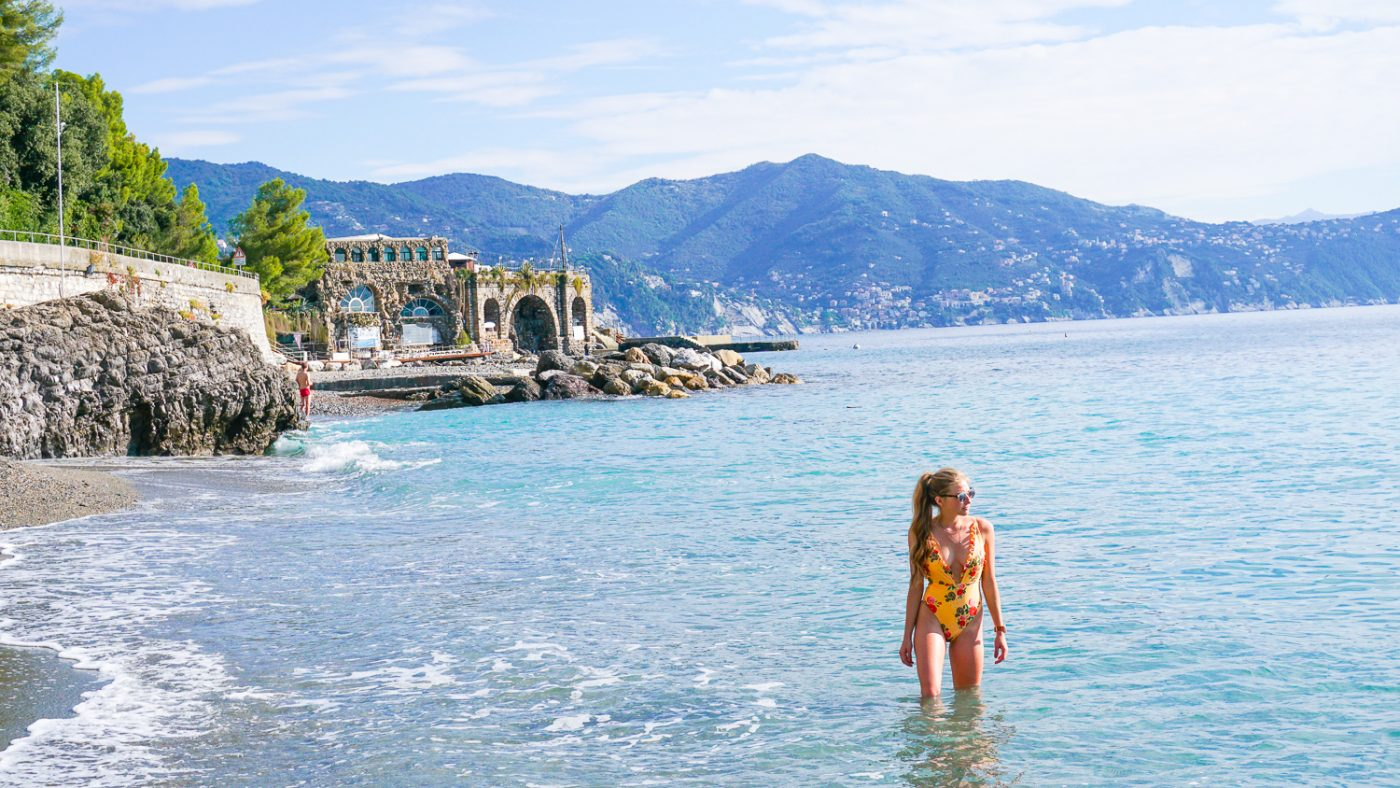 Portofino beach