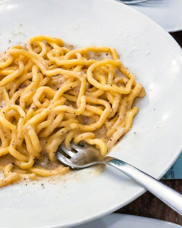 Best cacio e pepe Rome