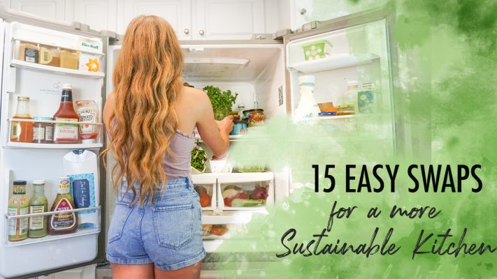 Easy sustainable kitchen swaps