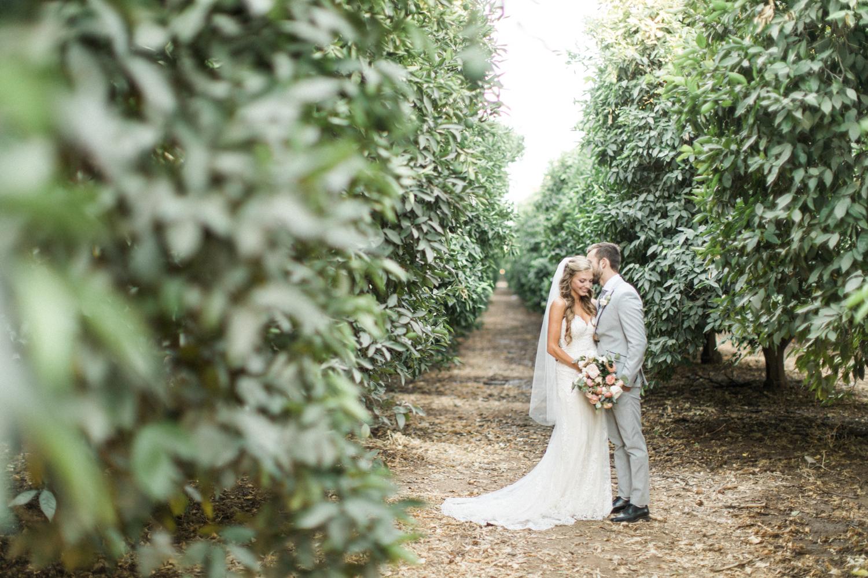 Outdoor Wedding Bride and Groom Photos