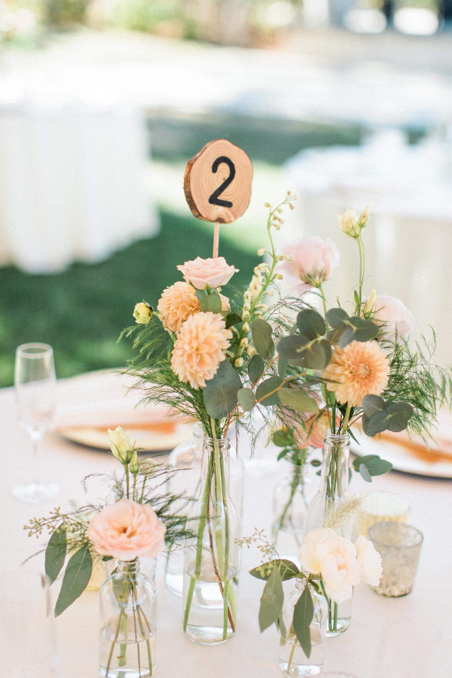 Bohemian Wedding Centerpiece Idea