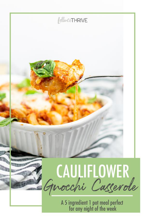 Cauliflower gnocchi Pin