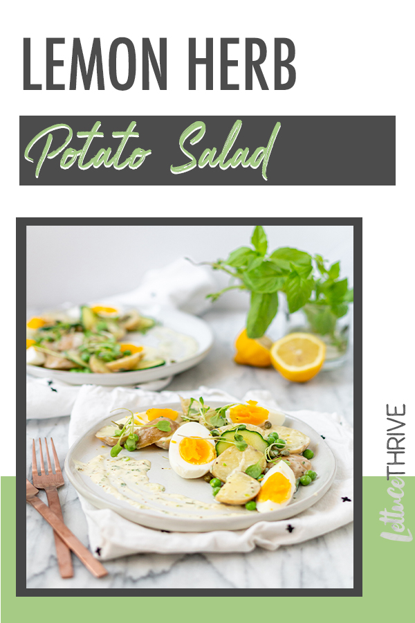 Lemon Herb Potato Salad