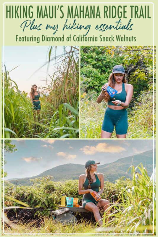 Hiking the Mahana Ridge Trail and packing essentials